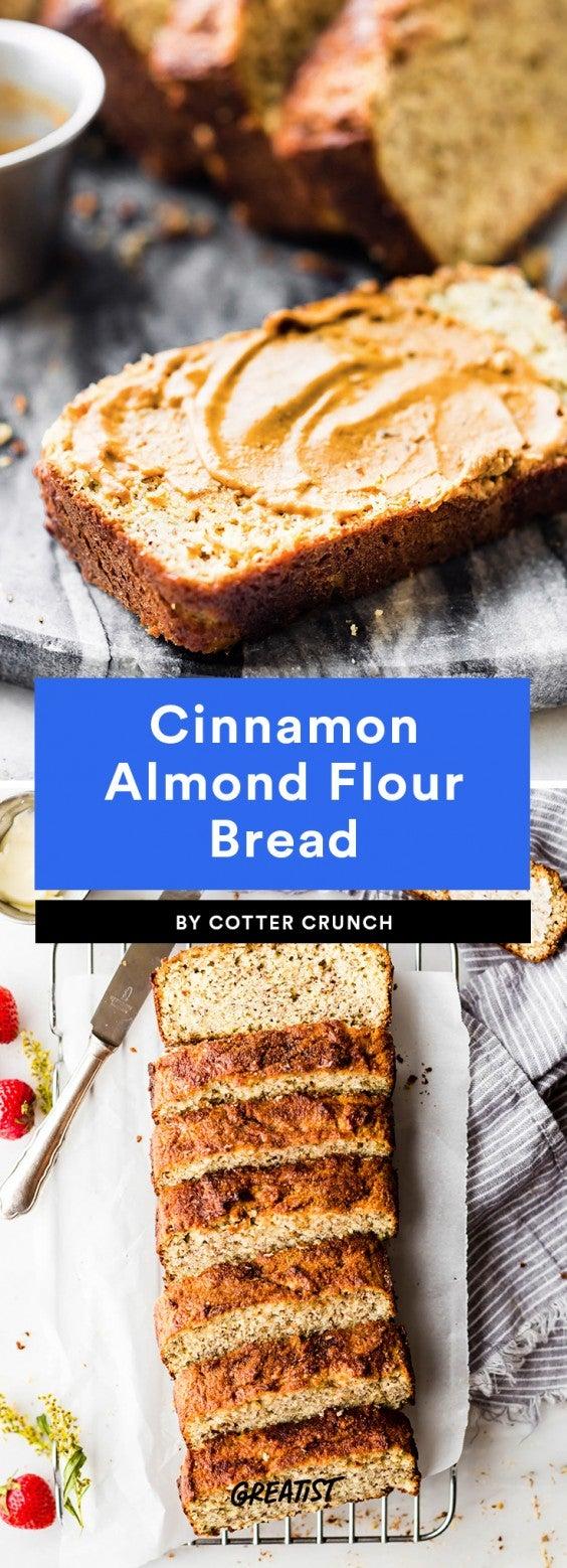 Cinnamon Almond Flour Bread