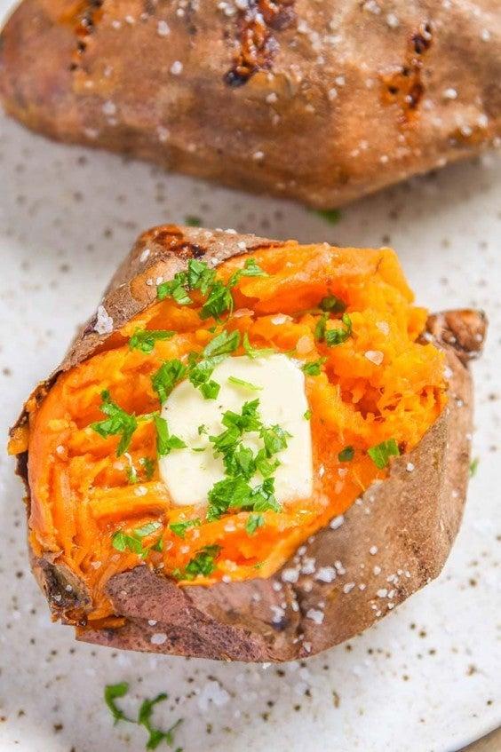 10. Air Fryer Baked Sweet Potato