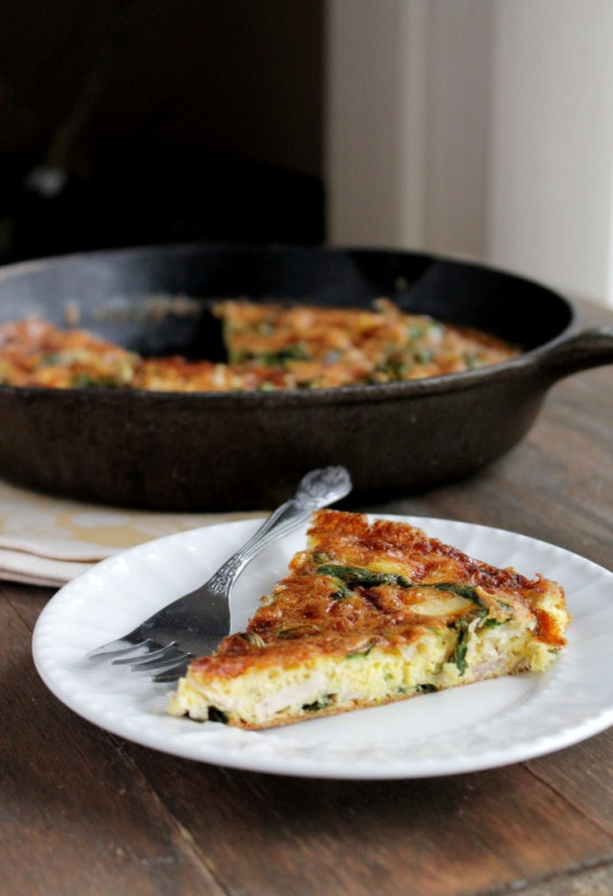 3. Leftover Turkey Frittata