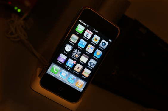 Docked iPhone_604