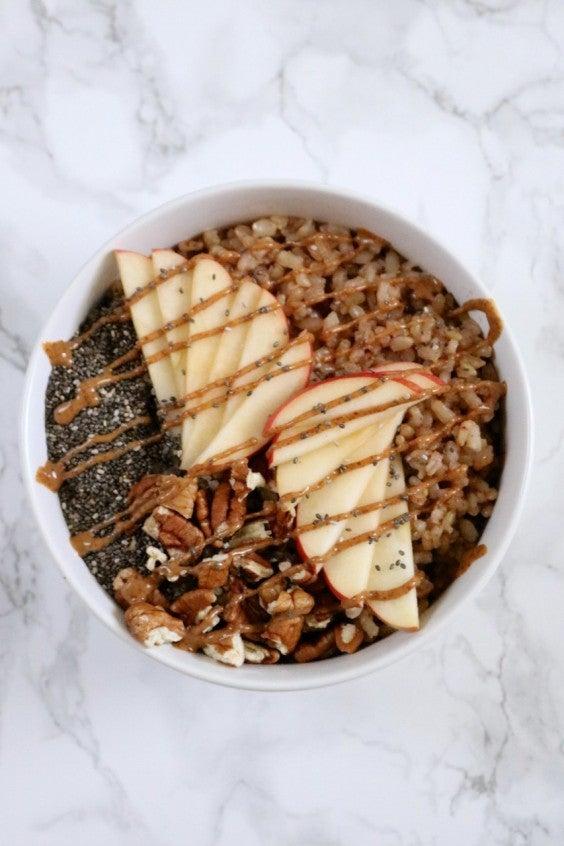 1. Instant Pot Breakfast Rice Bowls
