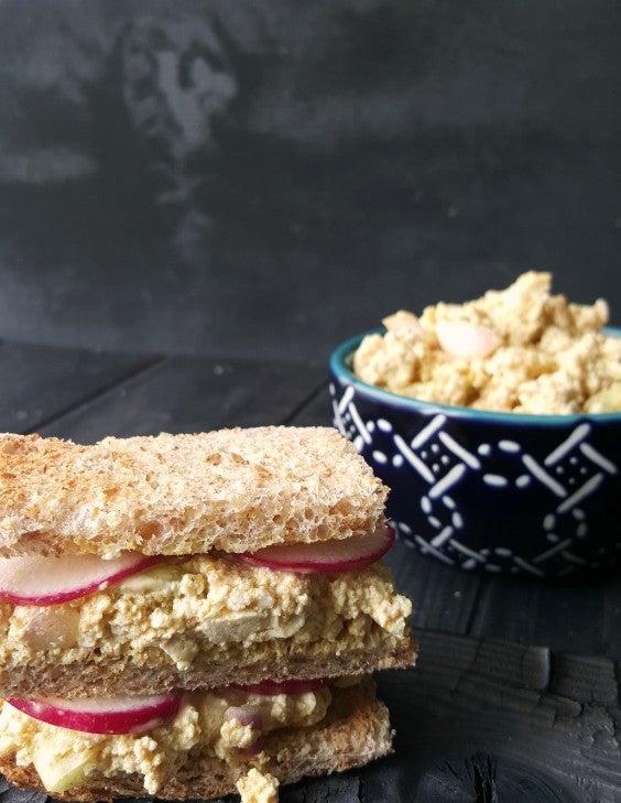 Tofu Recipes: Eggless Sandwich