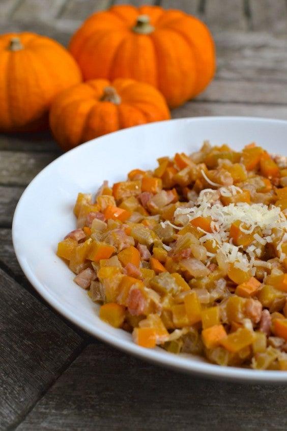 13. Grain-Free Pumpkin Risotto