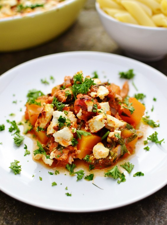 10. Easy Tuna Bake With Butternut Squash, Spinach, and Feta