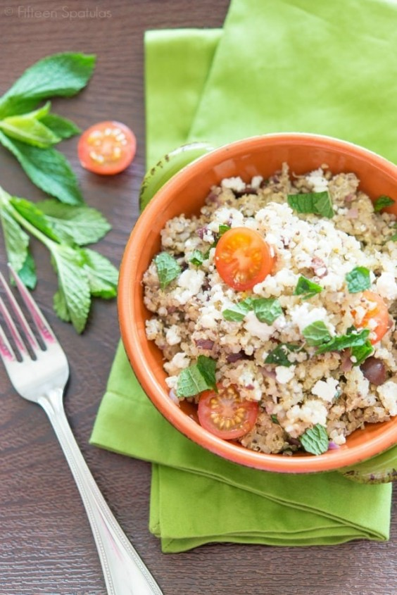 18. Quinoa Salad With Feta and Chia Seeds
