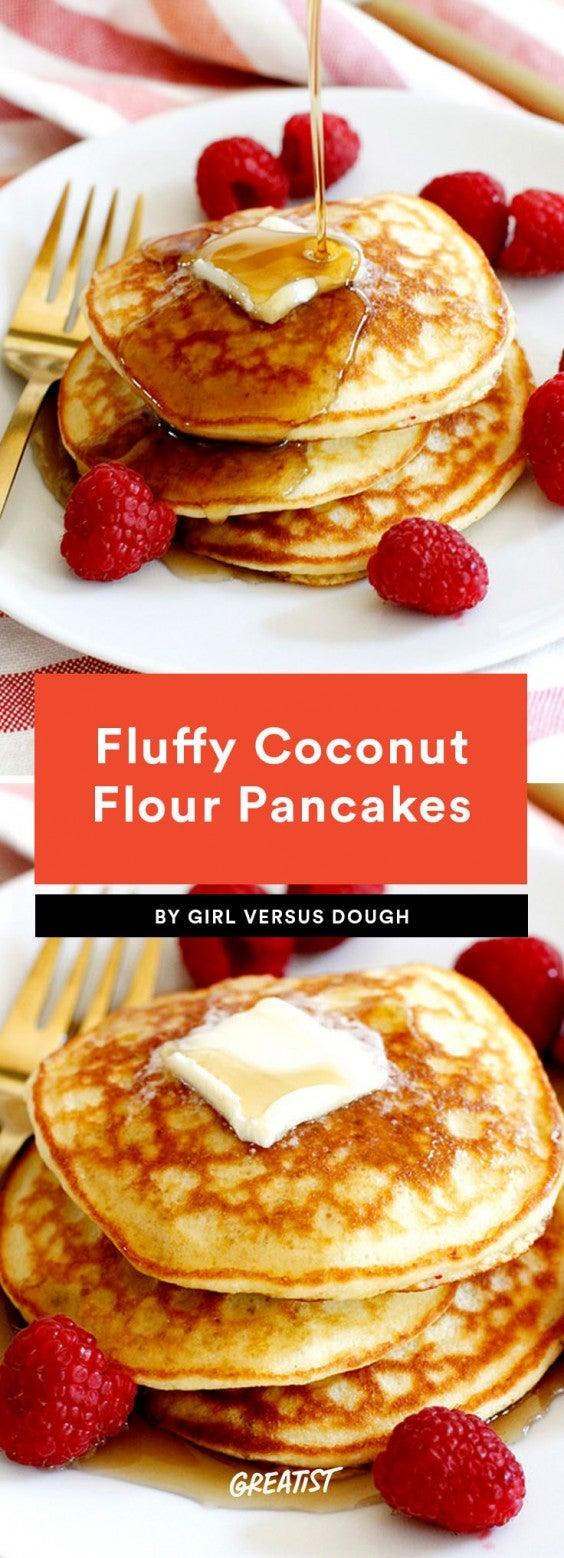 1. Fluffy Coconut Flour Pancakes