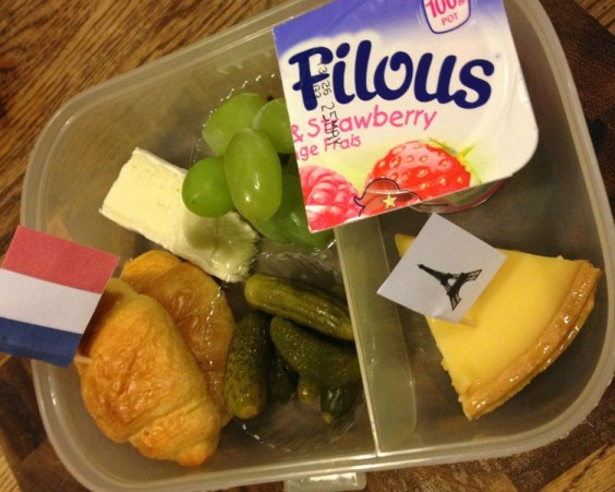 French Lunch Bento
