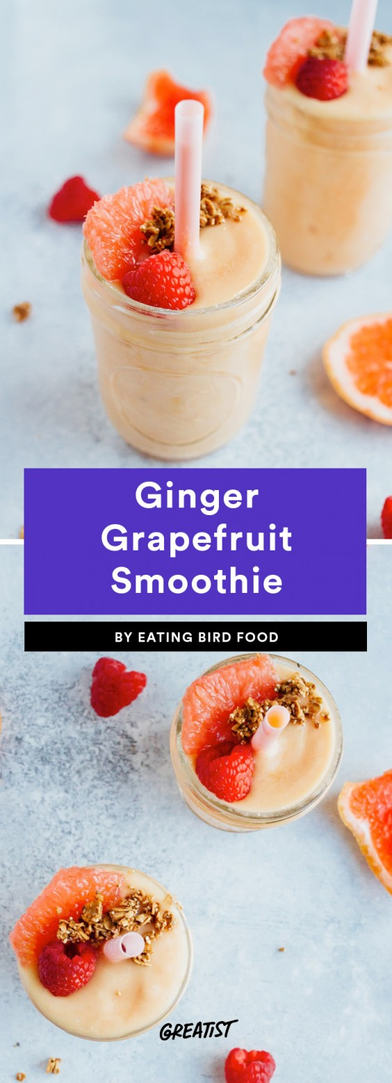 Ginger Grapefruit Smoothie