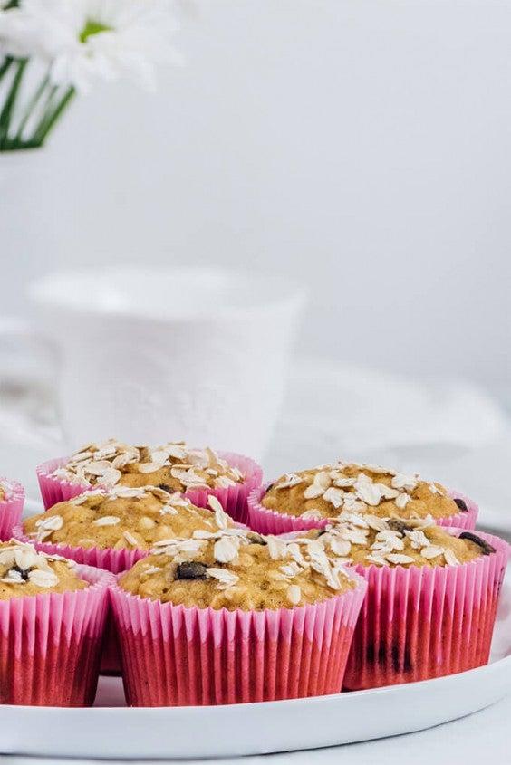3. Pumpkin Oatmeal Muffins