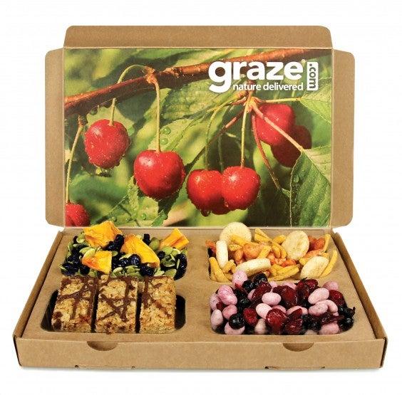 Subscription Box Healthy Snacks: Graze