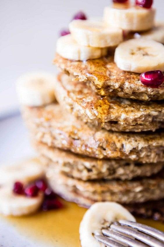 1. Healthy Chai Banana Pancakes