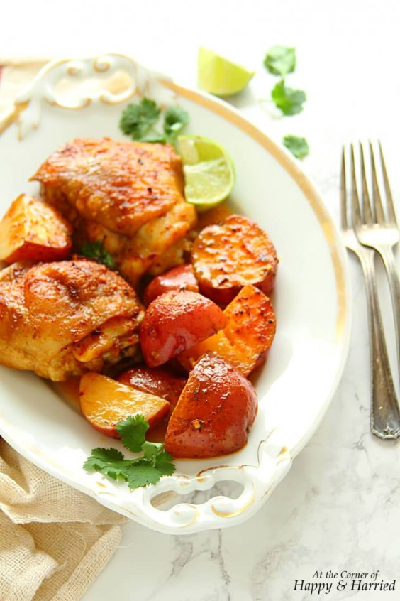 11. Thai Coconut Braised Chicken and Potatoes
