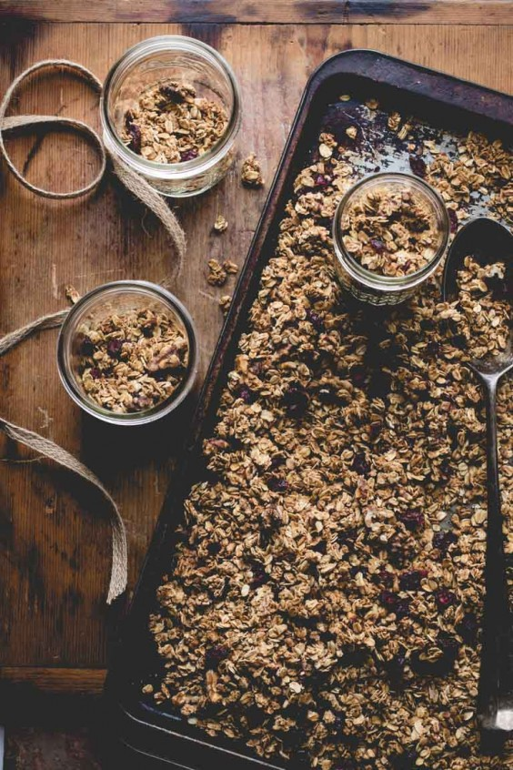 5. Maple Granola