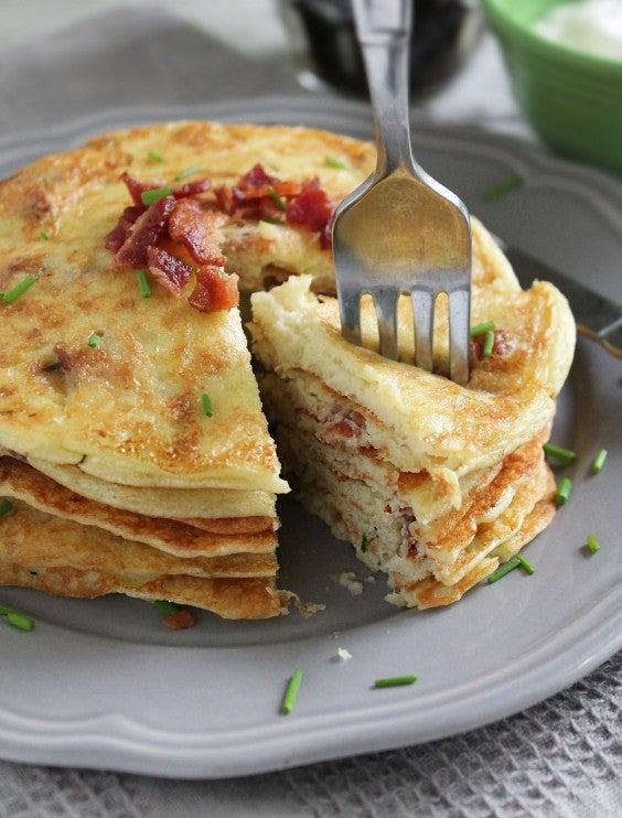 3. Savory Bacon and Potato Pancakes