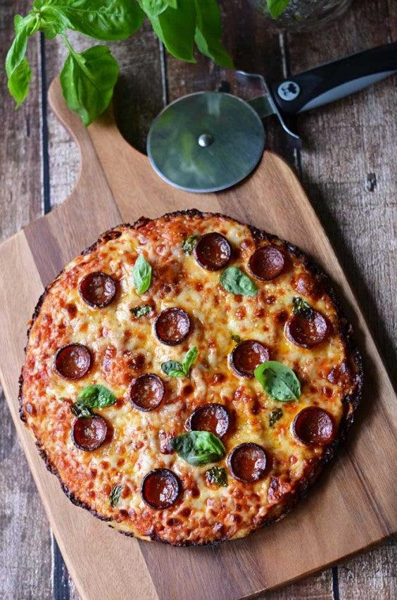 10. Pizza Hut: Best Ever No-Knead Pan Pizza