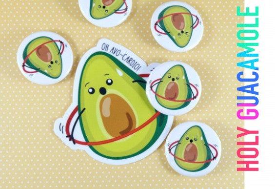 Avo-Cardio Stickers