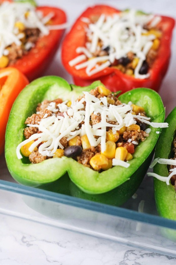 12. Chipotle Turkey Stuffed Peppers