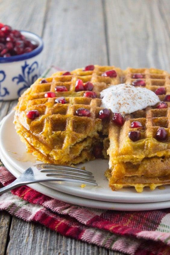 1. Butternut Squash Waffles