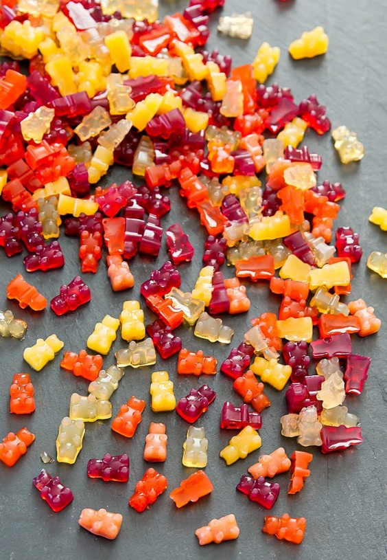 16. Vegan Gummy Fruit Snacks