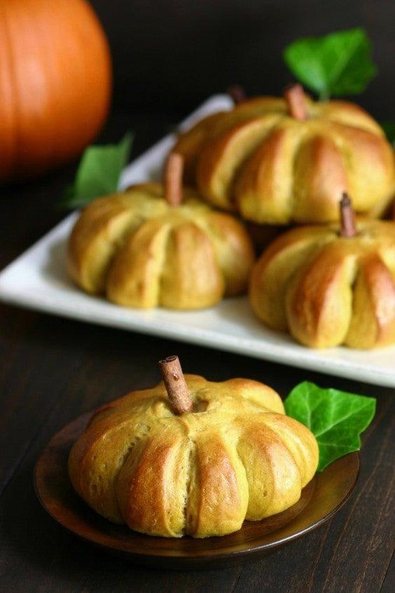 9. Sweet Pumpkin Buns