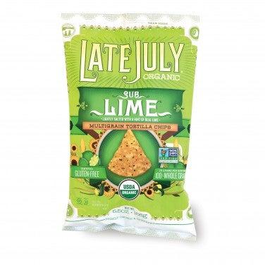 Late July SubLime Organic Multigrain Tortilla Chips