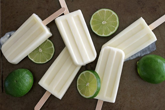 Recipe: Lime Creamsicles