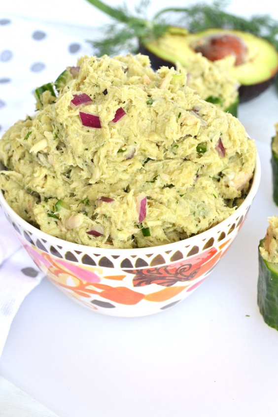 11. Avocado Dill Tuna Salad
