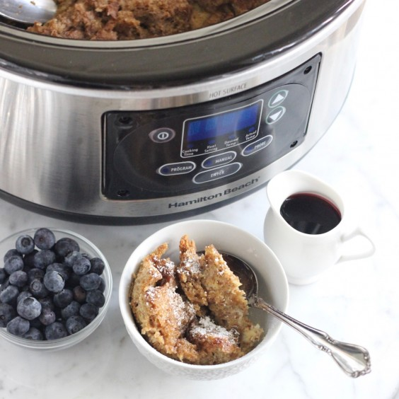 6. Slow-Cooker French Toast Casserole