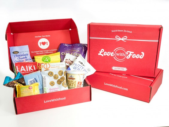 Subscription Box Healthy Snacks: Love With Food