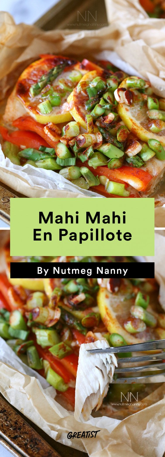 Mahi Mahi En Papillote Recipe