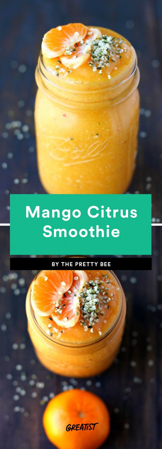 Mango Citrus Smoothie