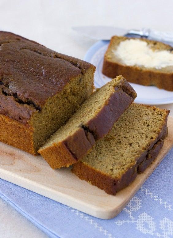 6. Grain-Free Sunbutter Banana Bread