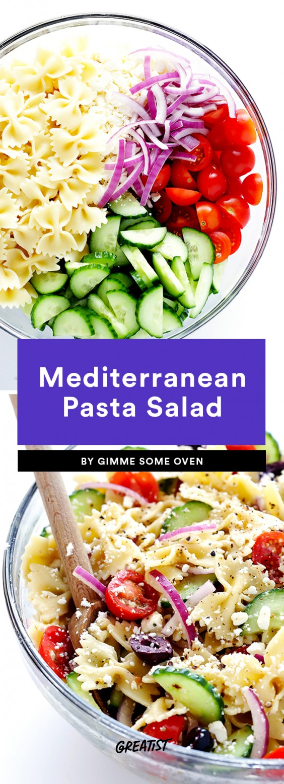 Mediterranean Pasta Salad