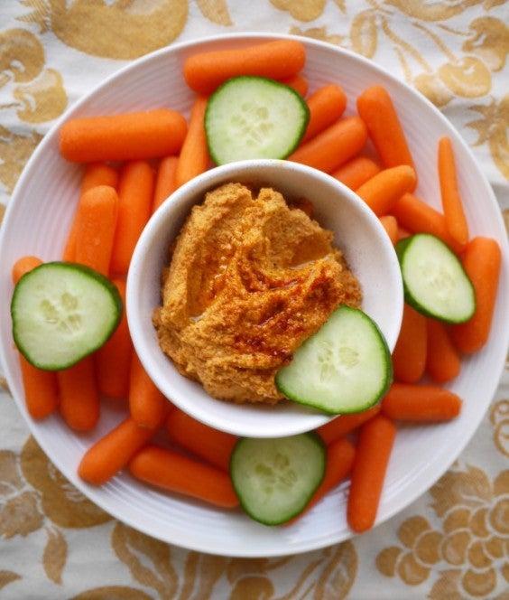 Paleo Snacks: Mediterranean Hummus