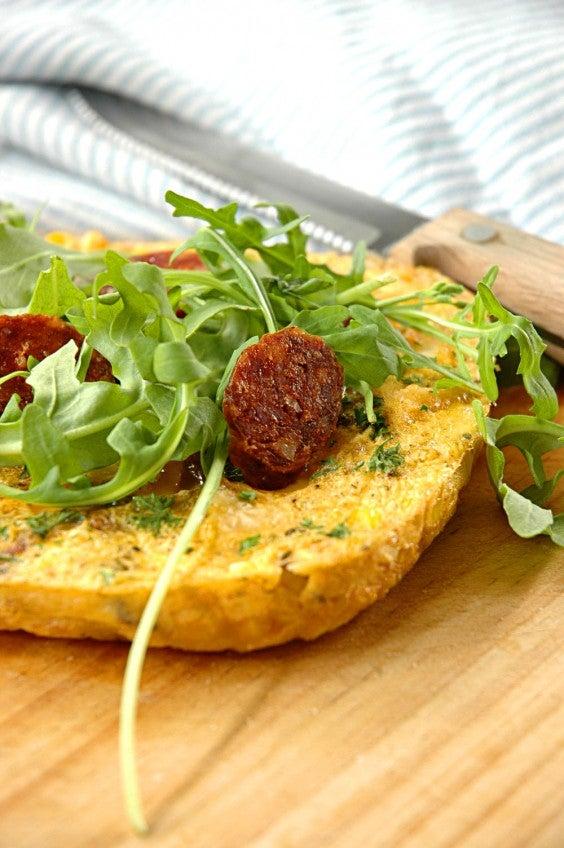 2. Spanish Frittata With Potato and Chorizo