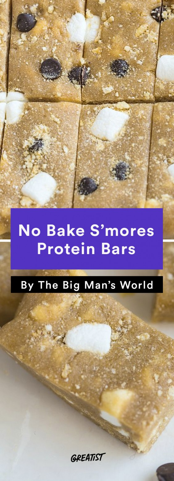 S'mores: Protein Bar