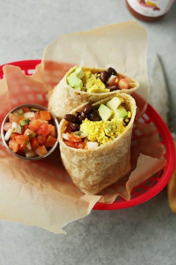 6. Protein-Packed Vegan Breakfast Burrito
