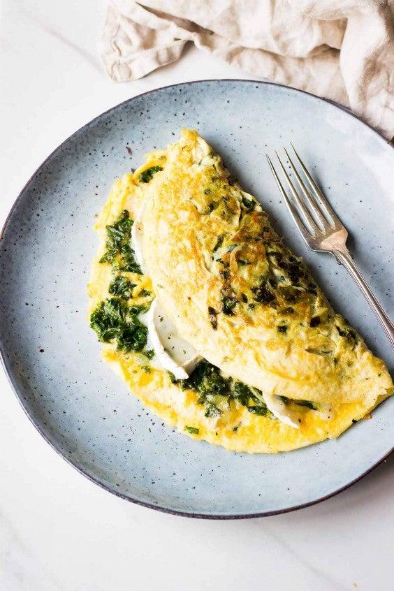 1. Kale Omelet