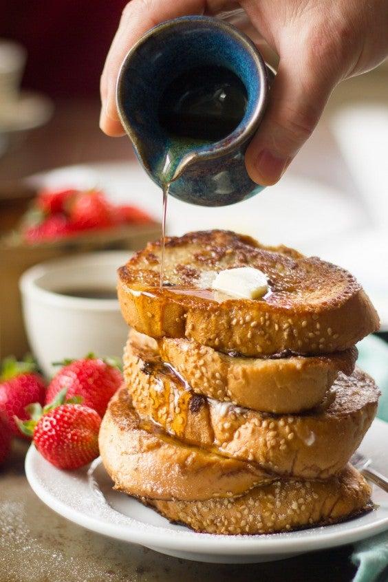 4. Chai Coconut Milk Vegan French Toast