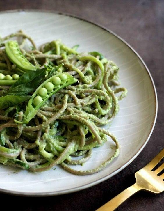 8. Creamy Buckwheat Noodles