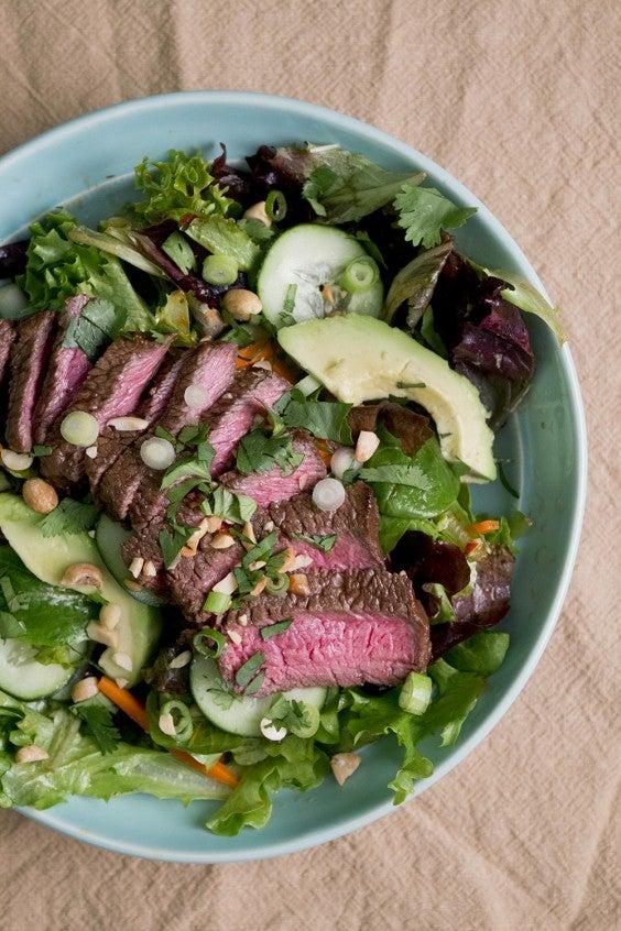 7. Weeknight Sesame Steak Salad