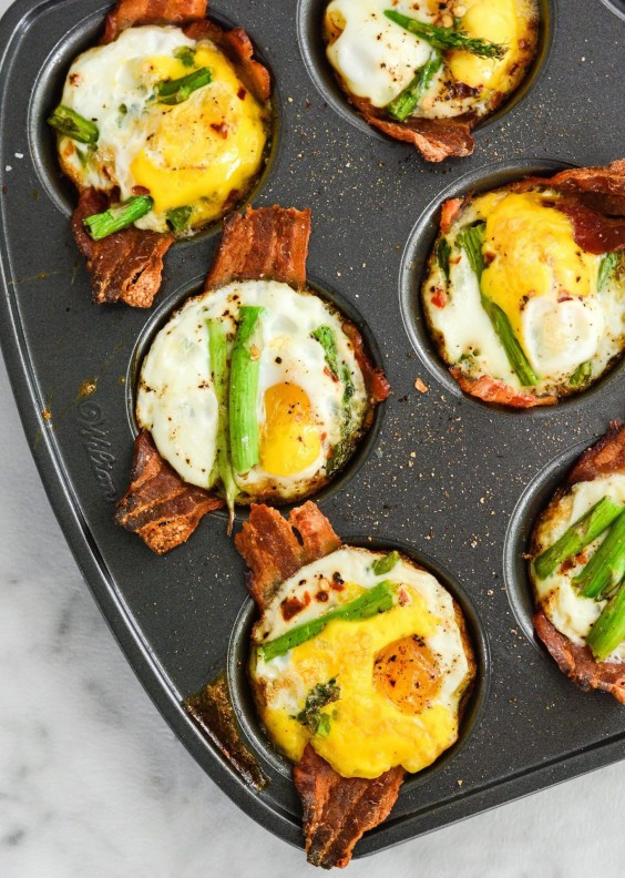 Paleo Snacks: Baked Egg Cups