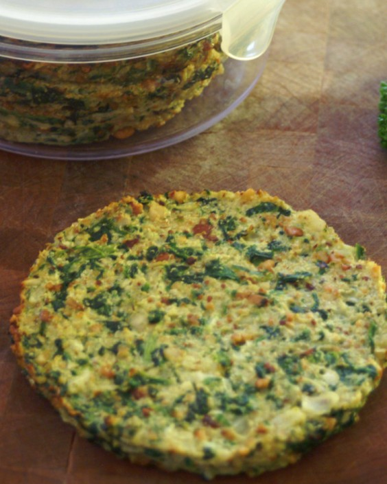 Paleo Cauliflower and Spinach Breakfast Bread