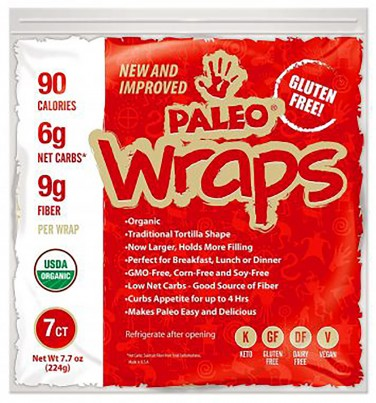 1. Julian Bakery Paleo Wraps