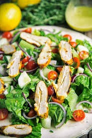 12. Chicken Shawarma Salad