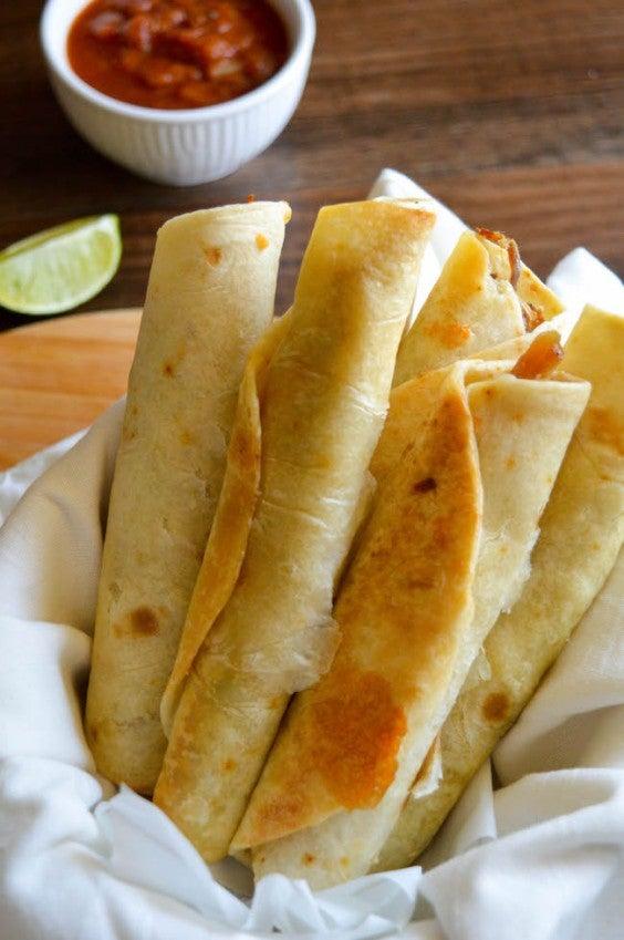 12. Air Fryer Pork Taquitos