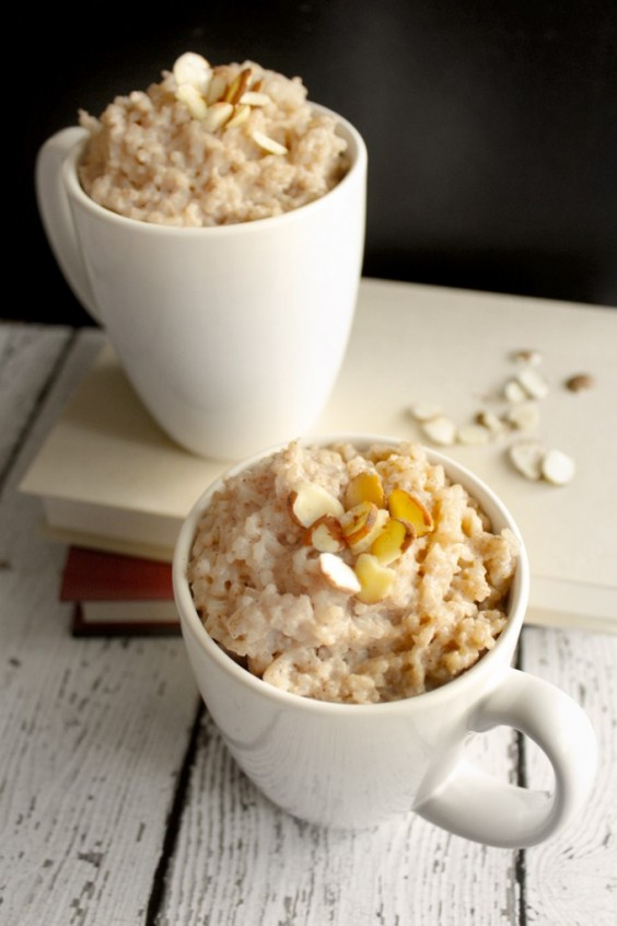 13. Almond Chai Rice Pudding