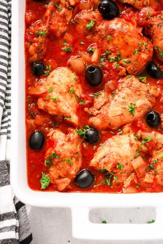 1. Instant Pot Mediterranean Chicken