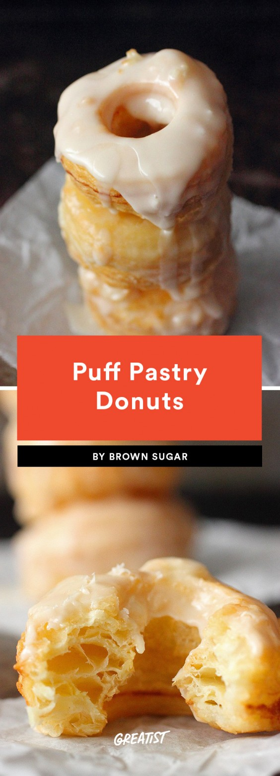 Puff Pastry Donuts Recipe