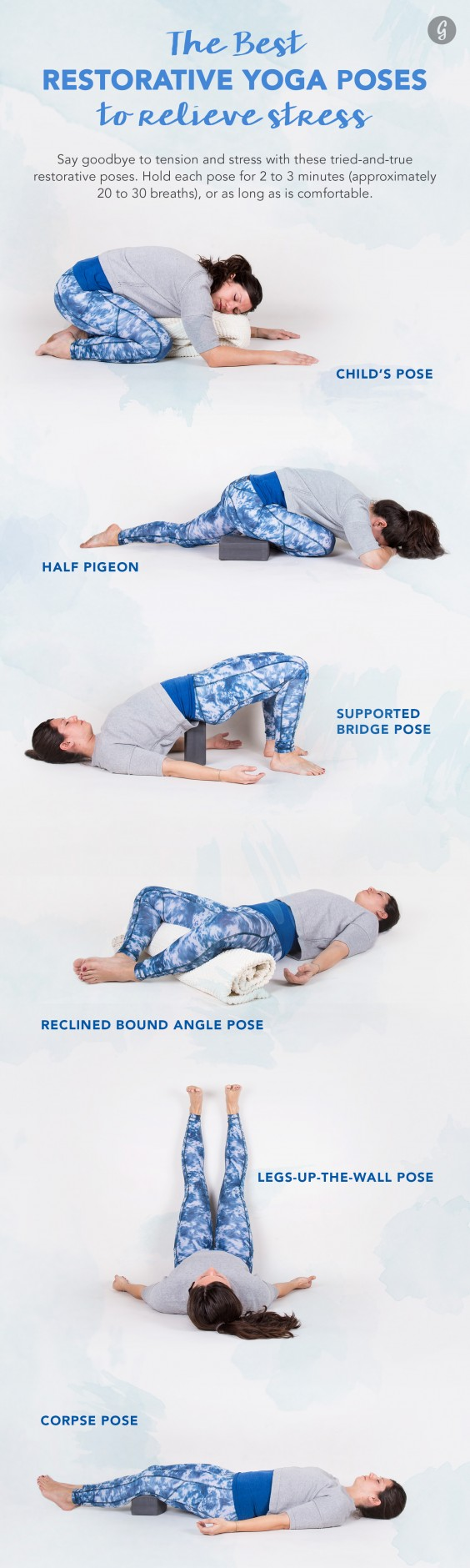 Restorative Yoga: The Best Restorative Yoga Poses to Relieve